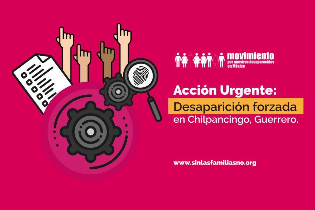acción urgente desaparición forzada