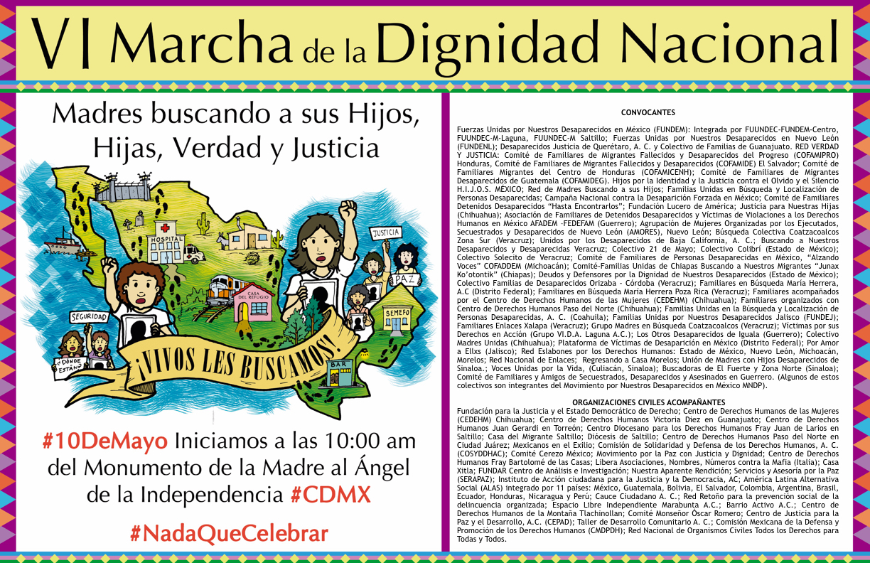 VI Marcha de la dignidad nacional