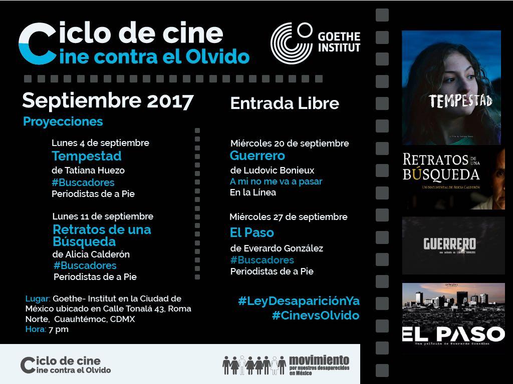 Ciclo de cine: Contra el olvido