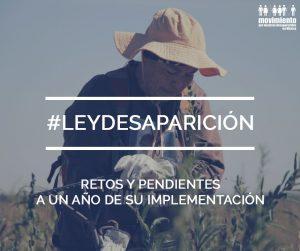 #LeyDesparición