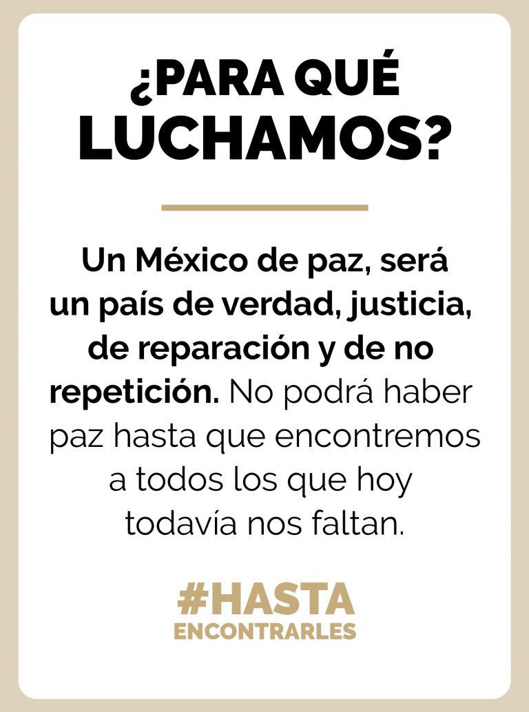 Movimiento por nuestros desaparecidos en México