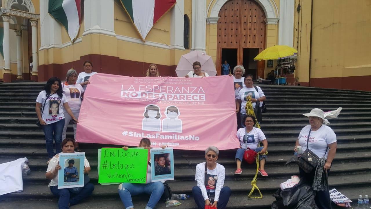 #LaEsperanzaNoDesaparece acción #30Agosto