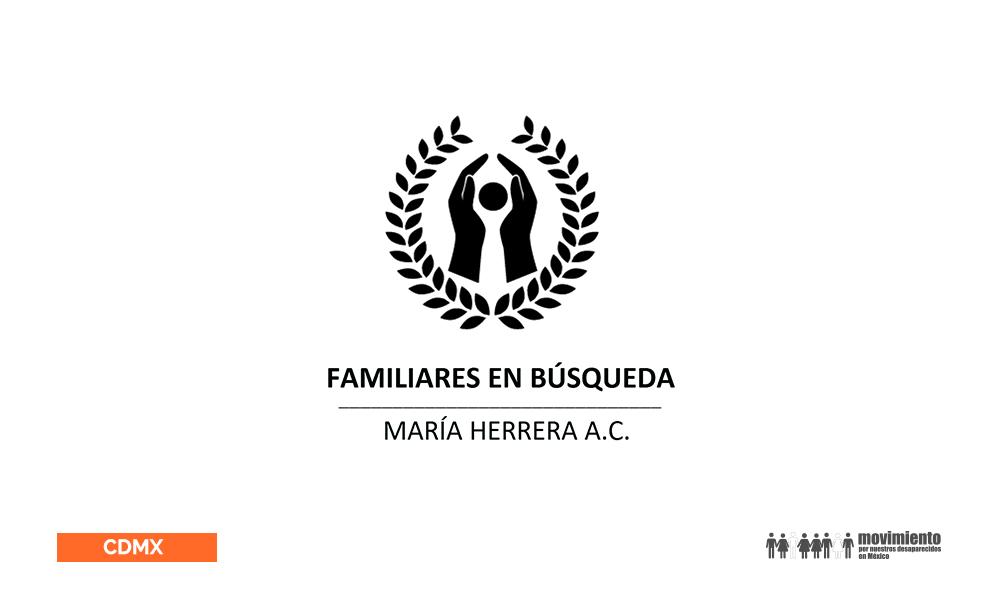 María Herrera - Movimiento por nuestros desaparecidos en México