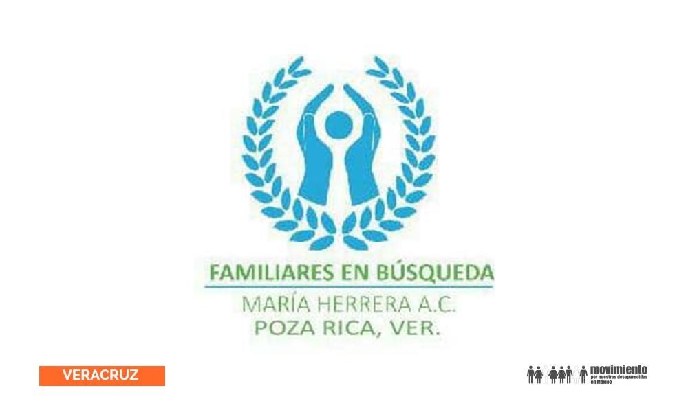 Familiares en búsqueda María Herrera Poza Rica Veracruz
