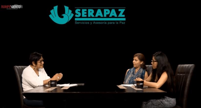 Serapaz -09 de mayo 2016- Movimiento por Nuestros Desaparecidos