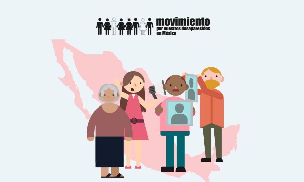 El Movimiento por nuestros desaparecidos en México y los Colectivos