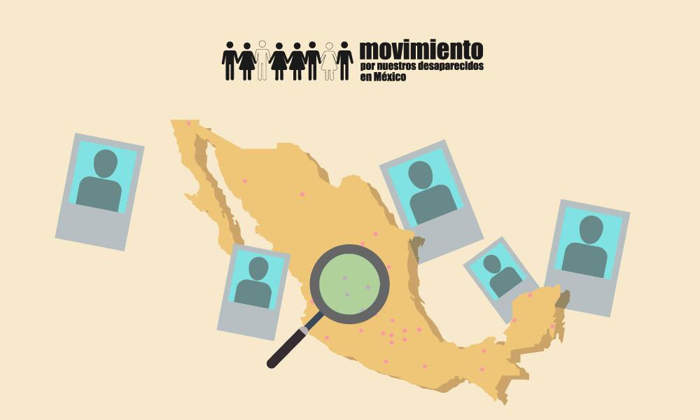 Datos Nacionales sobre las desapariciones en México