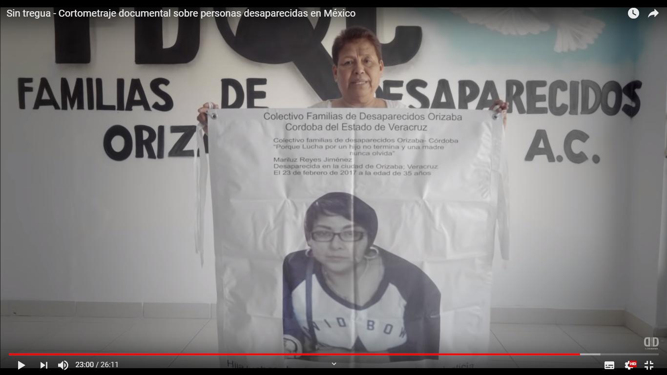 Sin tregua - Cortometraje documental sobre personas desaparecidas en México)