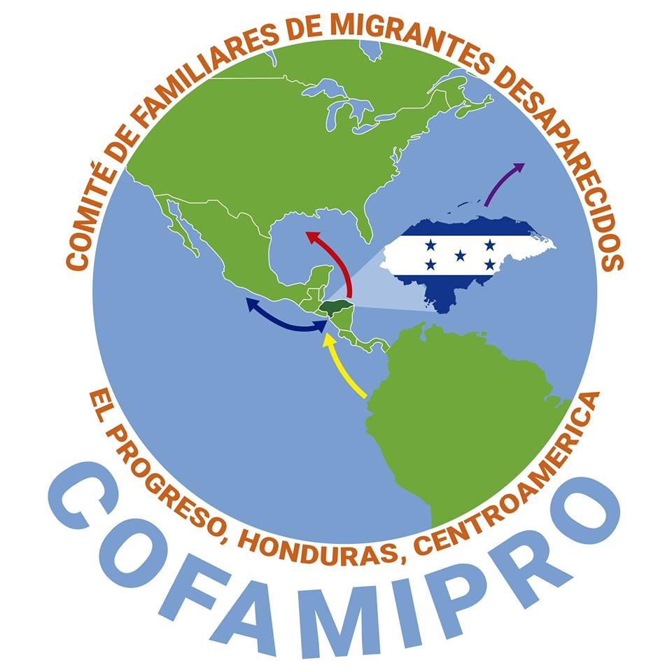 Logo: COFAMIPRO- Comité de Familiares de Migrantes Desaparecidos del Progreso, Honduras